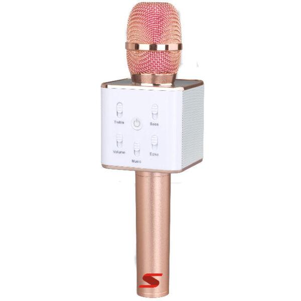 Micrófono Karaoke Bluetooth Inalámbrico+ Parlante + Estuche Senon