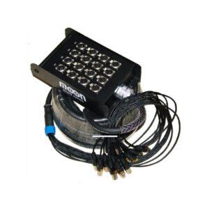 Pachera De 12 Canales X 4 Envios C/Cable De 20 MTS