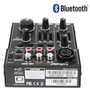 Audiopipe AQM-1300BT CONSOLA 3 CANALES CON BLUETOOTH