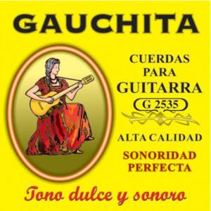 Encordado Cuerdas para guitarra Criolla DORADA G2535
