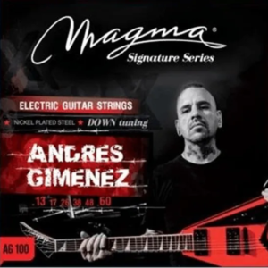 Encordado Para Guit Electrica Andres Gimenez Magma Ag100