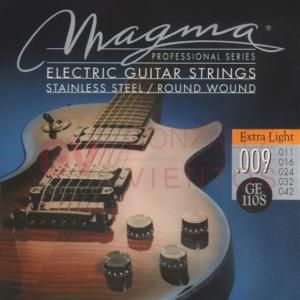 Encordado Guitarra Electrica 09 42 Magma Ge110s Cuerdas
