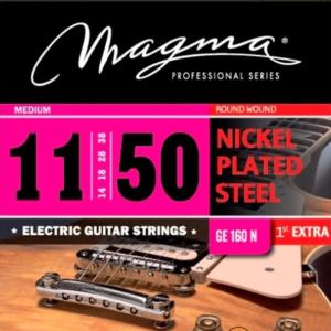 Encordado Cuerdas Guitarra Eléctrica Magma 011 Ge 160 N