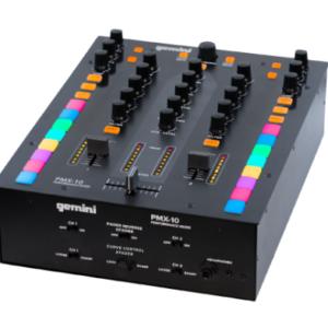 MEZCLADOR DE 2 CANALES Y CONTROLADOR DJ PMX-10
