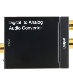 Convertidor Audio Óptico Digital O Coaxial A Rca Oferta