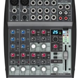 Consola Behringer Xenyx 1002fx Mixer 10 Canales Con Efectos