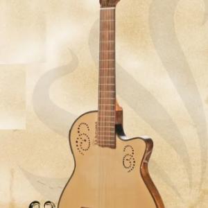 Guitarra Criolla La Alpujarra 300kec C/eq Corte Fishman