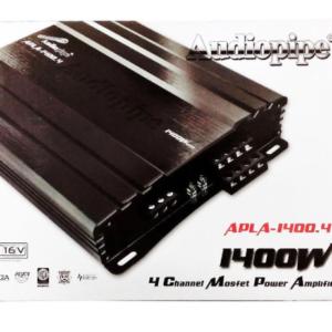 Amplificador Apla-1400.4