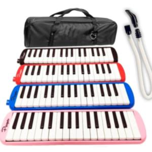 Flauta Melodica 32 Notas Incluye Funda Varios Colores