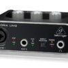 Placa De Audio Behringer Um2 Interfaz Grabacion