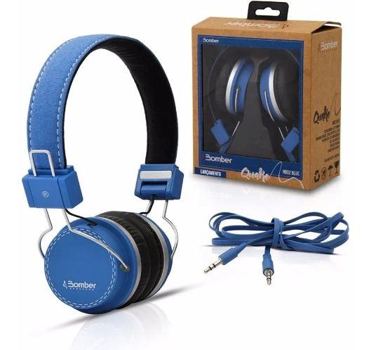 Auriculares Bomber Quake Hb02 Negro o Azul