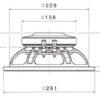 Altavoces Faital Pro 10″ Ferrite 10PR310