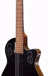 Guitarra La Alpujarra Mod. 300 Con Fishman -negra