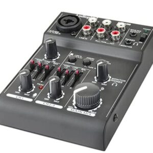 Consola Mixer 3 Ch Bluetooth Audiopipe Aqm 1300bt